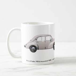 Messerschmitt & Renault 1950 Coffee Mug
