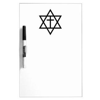 Messianic Judaism Symbol Dry-Erase Board