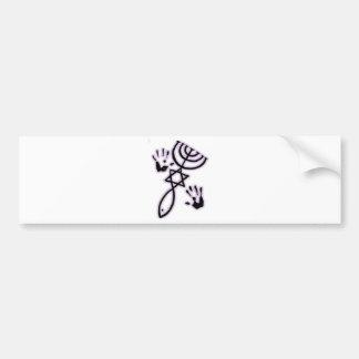 Messianic prints bumper stickers