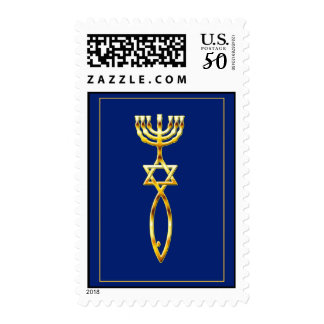 Messianic Seal Blue Postage