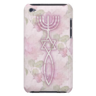 Messianic Seal Floral iPod Touch 4G BarelyThere Barely There iPod Cover