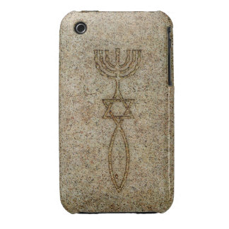 Messianic Seal Stone iPhone 3G 3GS BarelyThere iPhone 3 Case