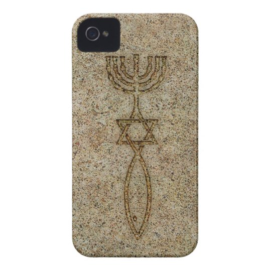 Messianic Seal Stone iPhone 4/4S Barely There Case