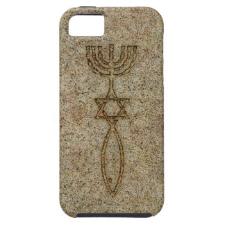 Messianic Seal Stone iPhone 5 Tough Case-Mate Case