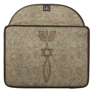 Messianic Seal Stone MacBook Pro Sleeves