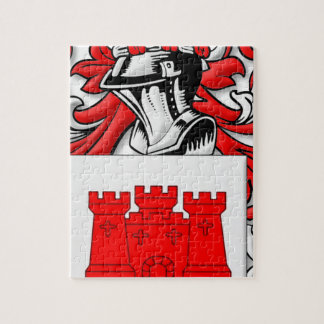 Messick Coat of Arms Jigsaw Puzzle