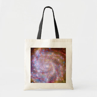 Messier 101 Galaxy Tote Bags