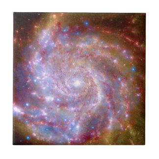 Messier 101 Galaxy Tile