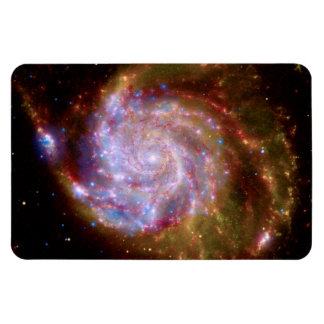 Messier 101 Spiral Galaxy - Hubble Telescope Photo Magnet