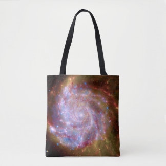 Messier 101 Spiral Galaxy - Hubble Telescope Photo Tote Bag