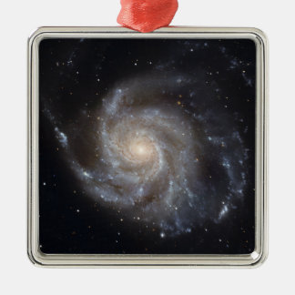 Messier 101, the Pinwheel Galaxy Metal Ornament