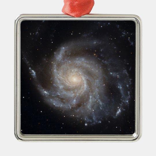 Messier 101, the Pinwheel Galaxy Metal Ornament