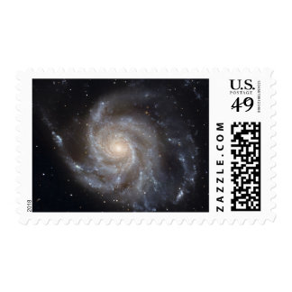 Messier 101, the Pinwheel Galaxy Postage