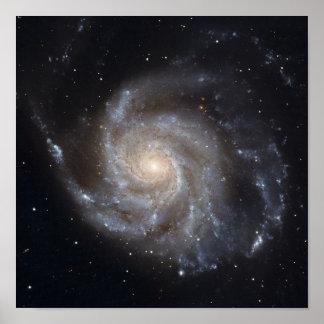 Messier 101, the Pinwheel Galaxy Poster