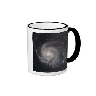 Messier 101, the Pinwheel Galaxy Ringer Mug