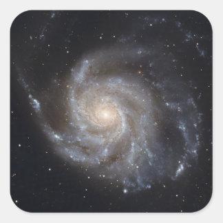 Messier 101, the Pinwheel Galaxy Square Sticker