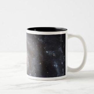 Messier 101, the Pinwheel Galaxy Two-Tone Coffee Mug