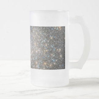 Messier 15 frosted glass beer mug