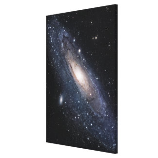 Messier 31, The Great Galaxy in Andromeda Canvas Print