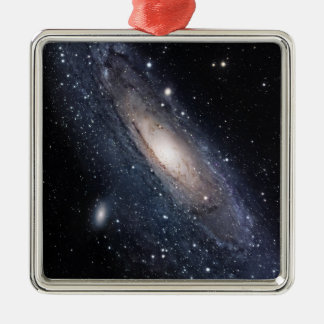 Messier 31, The Great Galaxy in Andromeda Metal Ornament