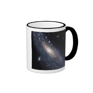 Messier 31, The Great Galaxy in Andromeda Ringer Mug