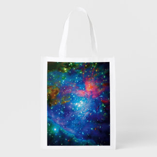 Messier 42 Orion Nebula Infrared ESO Space Photo Grocery Bag