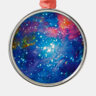Messier 42 Orion Nebula Infrared ESO Space Photo Metal Ornament