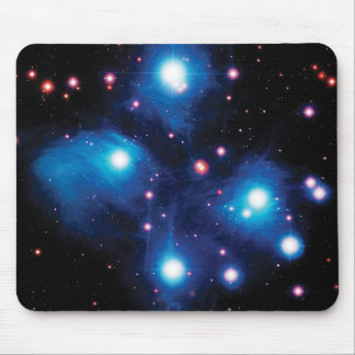 Messier 45 Pleiades Star Cluster Mouse Pad