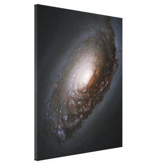 "Messier 64 - The ""Black Eye"" Galaxy Canvas Print"