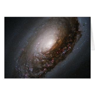 Messier 64 - The Black Eye Galaxy Card
