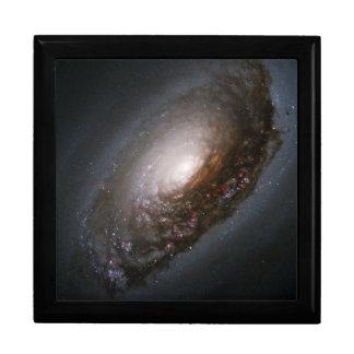 "Messier 64 - The ""Black Eye"" Galaxy Keepsake Box"