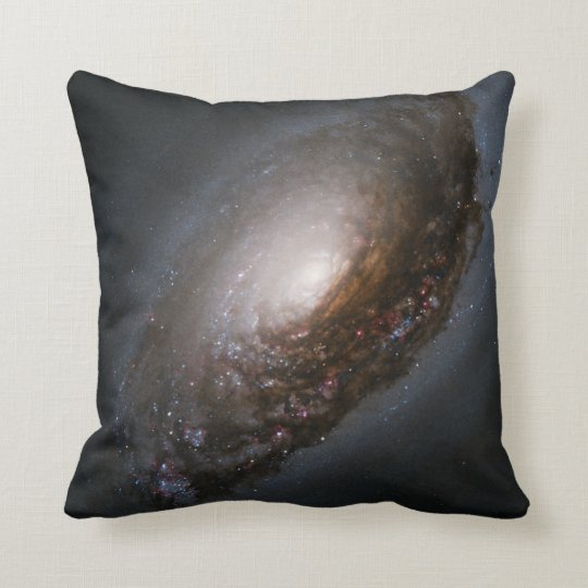 "Messier 64 - The ""Black Eye"" Galaxy Throw Pillow"