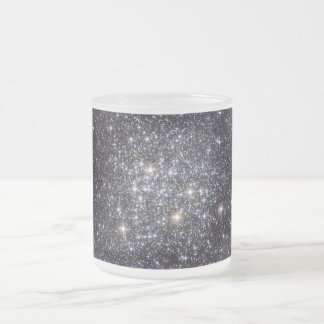 Messier 72 Globular Star Cluster NGC 6981 M72 Frosted Glass Coffee Mug