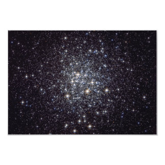 "Messier 72 Globular Star Cluster NGC 6981 M72 3.5"" X 5"" Invitation Card"