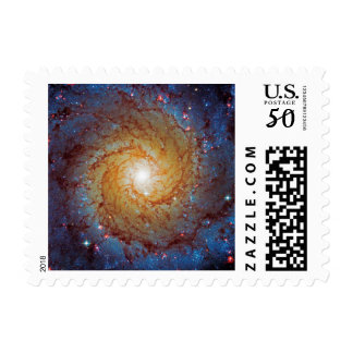 Messier 74 Spiral Galaxy Outer Space Photo Postage