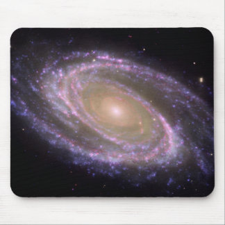 Messier 81 Spiral Galaxy Mouse Pad