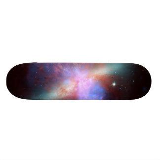 Messier 82 NGC 3034 Cigar Galaxy M82 Composite Skateboard Deck