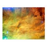 Messier 8 Lagoon Nebula Postcard