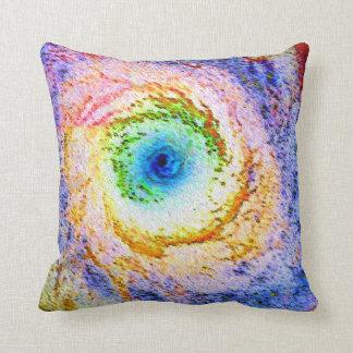 Messier 94 throw pillow