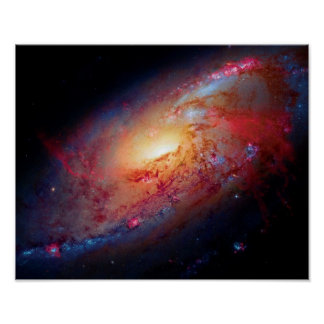 Messier M106 Print