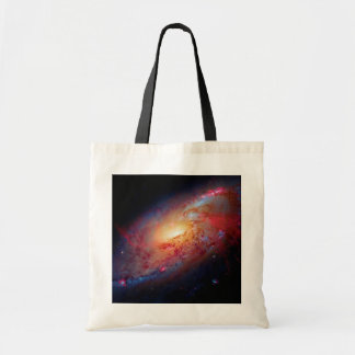 Messier M106 Spiral Galaxy Budget Tote Bag
