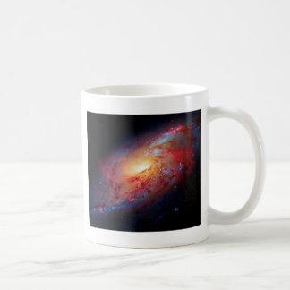 Messier M106 Spiral Galaxy Classic White Coffee Mug