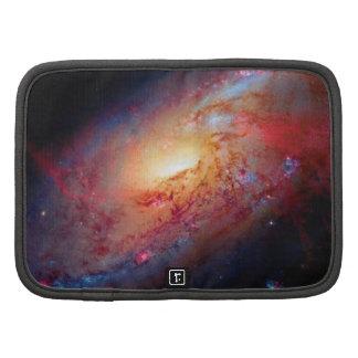 Messier M106 Spiral Galaxy Folio Planners