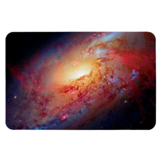 Messier M106 Spiral Galaxy Magnets