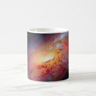 Messier M106 Spiral Galaxy Mug