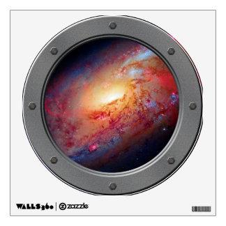 Messier M106 Spiral Galaxy Wall Decor