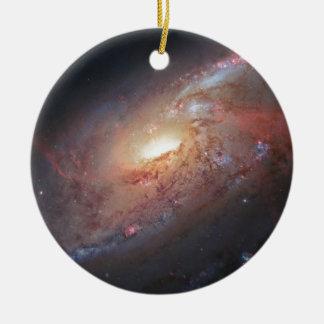 Messier Object 106 Ceramic Ornament