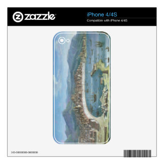 Messina - a Panoramic View of the Port Decal For iPhone 4