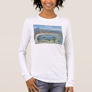 Messina - a Panoramic View of the Port Long Sleeve T-Shirt
