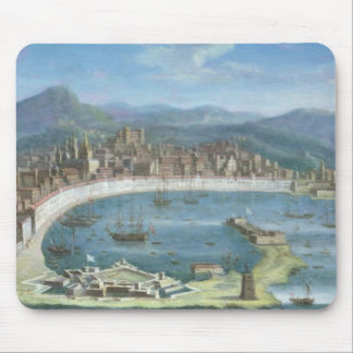 Messina - a Panoramic View of the Port Mouse Pad